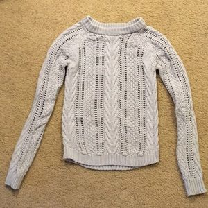 Sweaters - Cable-knit sweater